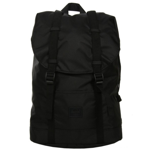 Vacances Noel 2019 | Herschel Sac à dos Retreat Mid-Volume Light black vente