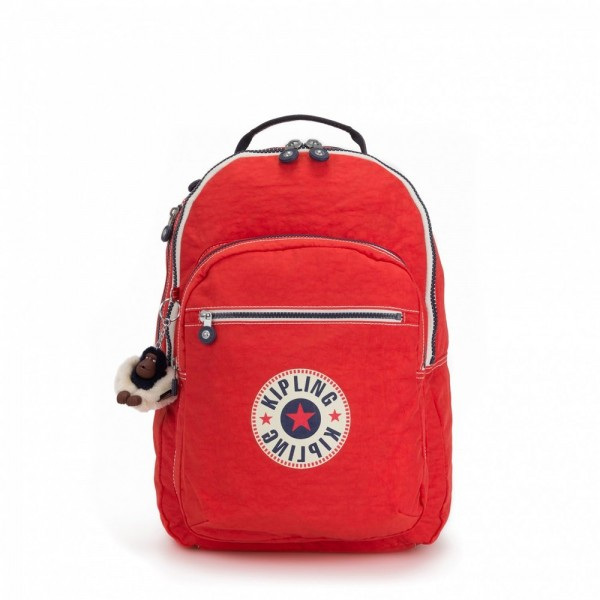 [Black Friday 2019] Kipling Grand Sac à Dos Avec Protection Pour Ordinateur Portable Active Red Bl pas cher