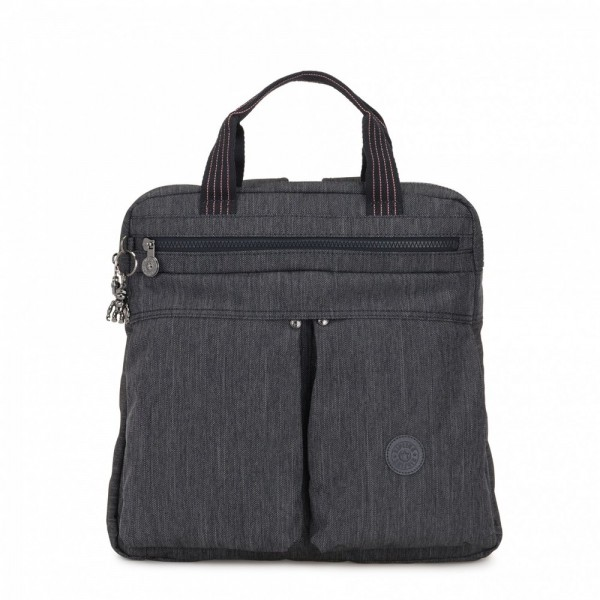 Black Friday 2020 | Kipling Petit sac à dos et à main 2 en 1 Active Denim pas cher