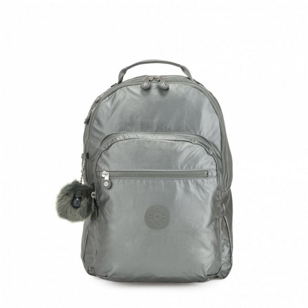 Black Friday 2020 | Kipling Grand Sac à Dos Avec Protection Pour Ordinateur Portable Metallic Stony pas cher