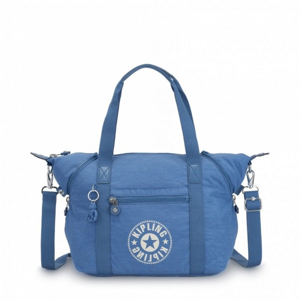 Black Friday 2020 | Kipling Sac Cabas avec Sangle Détachable Dynamic Blue pas cher