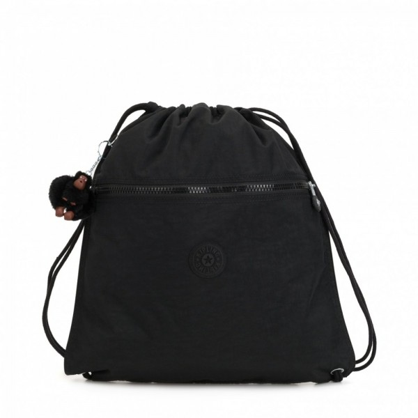 Black Friday 2020 | Kipling Grand Sac à Cordon True Black pas cher