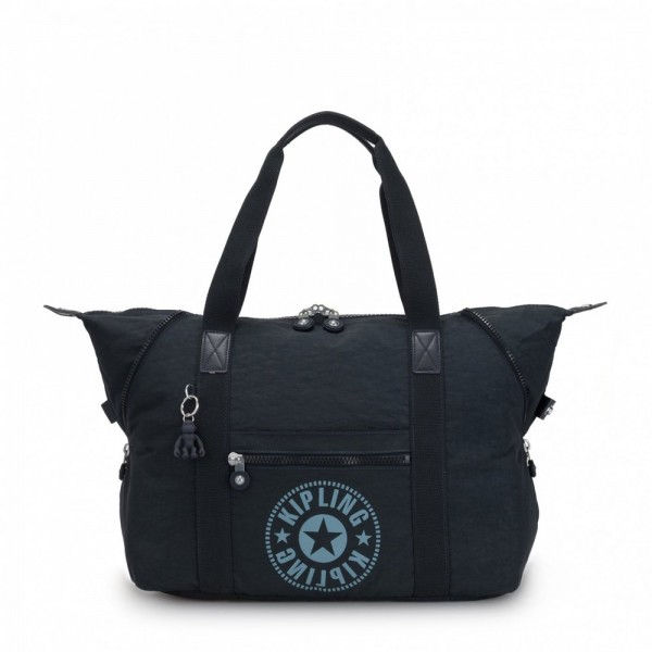 [Black Friday 2019] Kipling Sac Cabas Medium avec 2 Poches Frontales Lively Navy pas cher