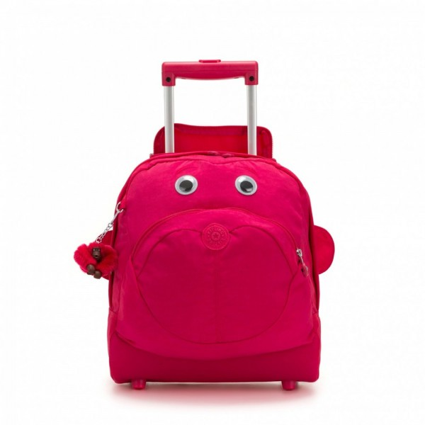 Black Friday 2020 | Kipling Cartable à roulettes True Pink pas cher