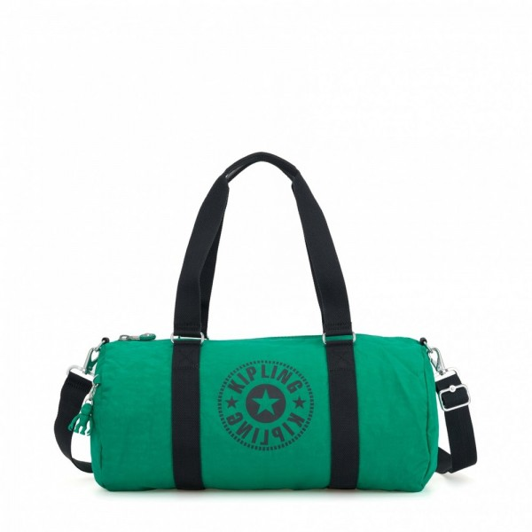 Vacances Noel 2019 | Kipling Sac Polochon Polyvalent Lively Green pas cher
