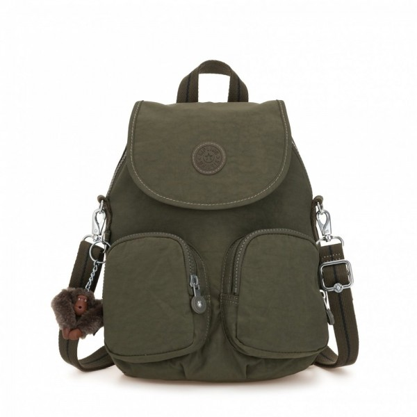 [Black Friday 2019] Kipling Petit sac à dos transformable en sac à bandoulière Jaded Green C pas cher