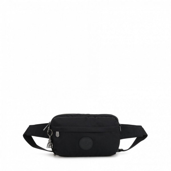 Kipling Small crossbody (convertible to waistbag) Rich Black pas cher
