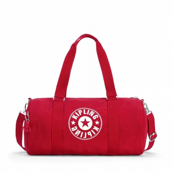 Black Friday 2020 | Kipling Sac Polochon Polyvalent Lively Red pas cher