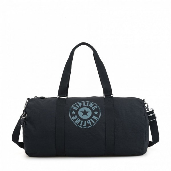 Kipling Large duffle Lively Navy pas cher