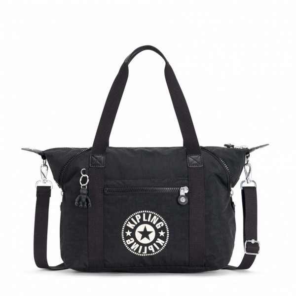 Black Friday 2020 | Kipling Sac Cabas avec Sangle Détachable Lively Black pas cher